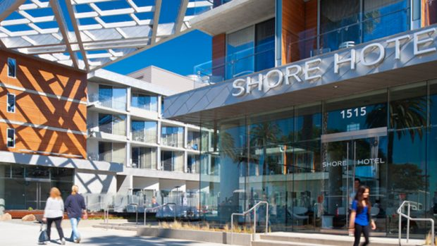 Santa Monica's Shore Hotel Awarded LEED Gold Certification