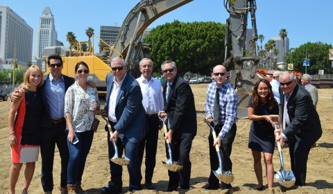 LA Plaza Village Breaks Ground