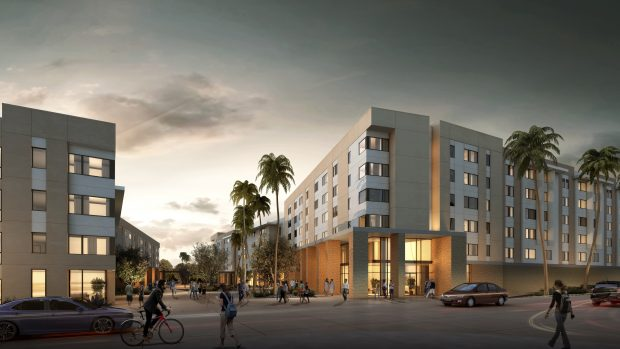 UC Riverside North District Phase I Breaks Ground