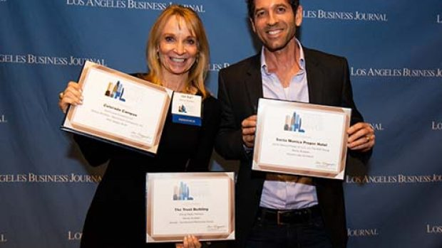 Morley Builders Honored at the Los Angeles Business Journal Commercial Real Estate Awards 2020