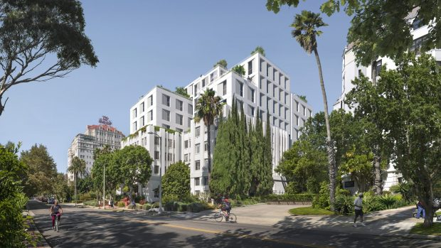 Domos Rossmore LLC Selects Morley Builders for Adaptive Reuse of 410 North Rossmore