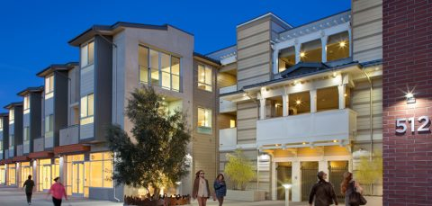 512 Rose Apartments Designated LEED Platinum