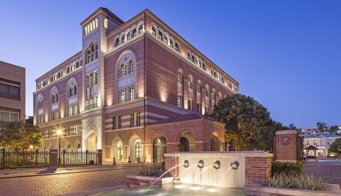 USC Dauterive Hall Awarded Best Education Project